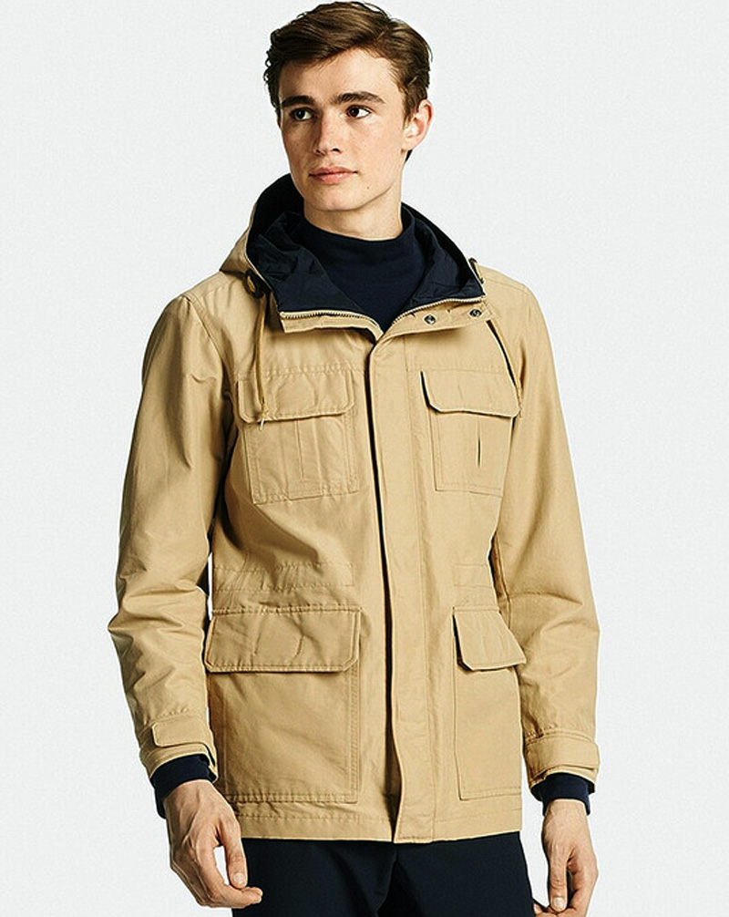 ao khoac Uniqlo Men Mountain Parka