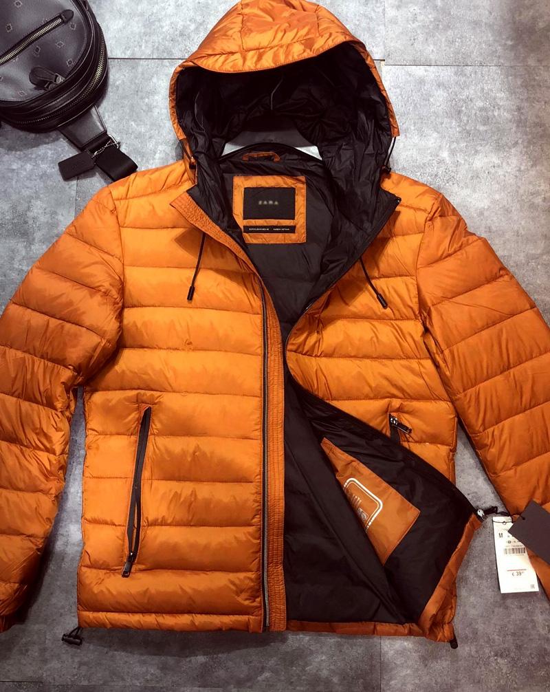 Áo khoác màu cam - màu ấm nóng cho mùa đông lạnh