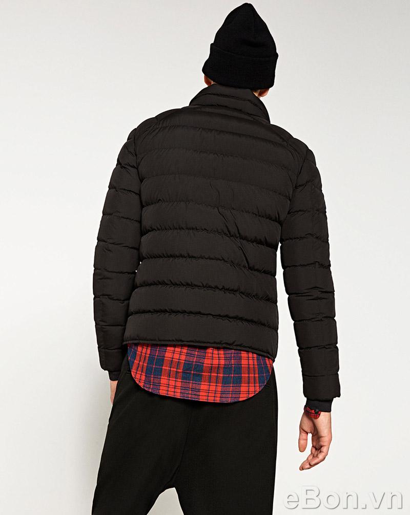 áo khoác nam lông vũ Zara