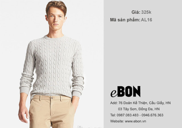 áo len xuất khẩu cho nam