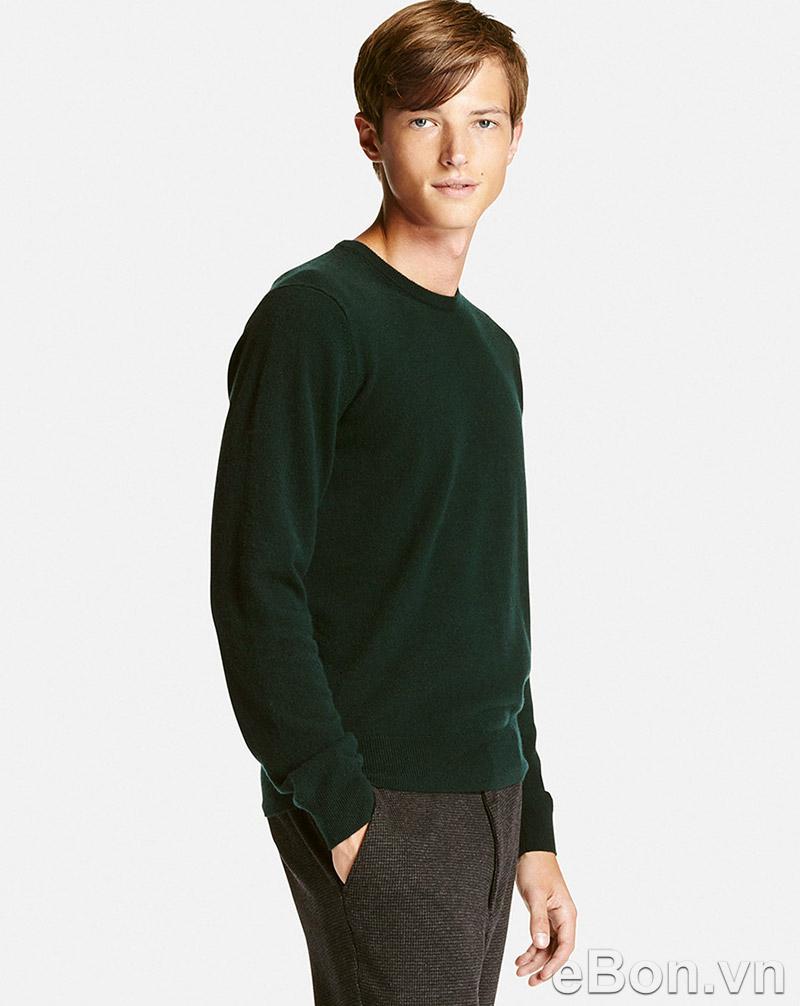 áo len lông cừu Uniqlo