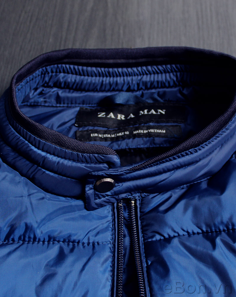 ao khoac phao nam Zara Man