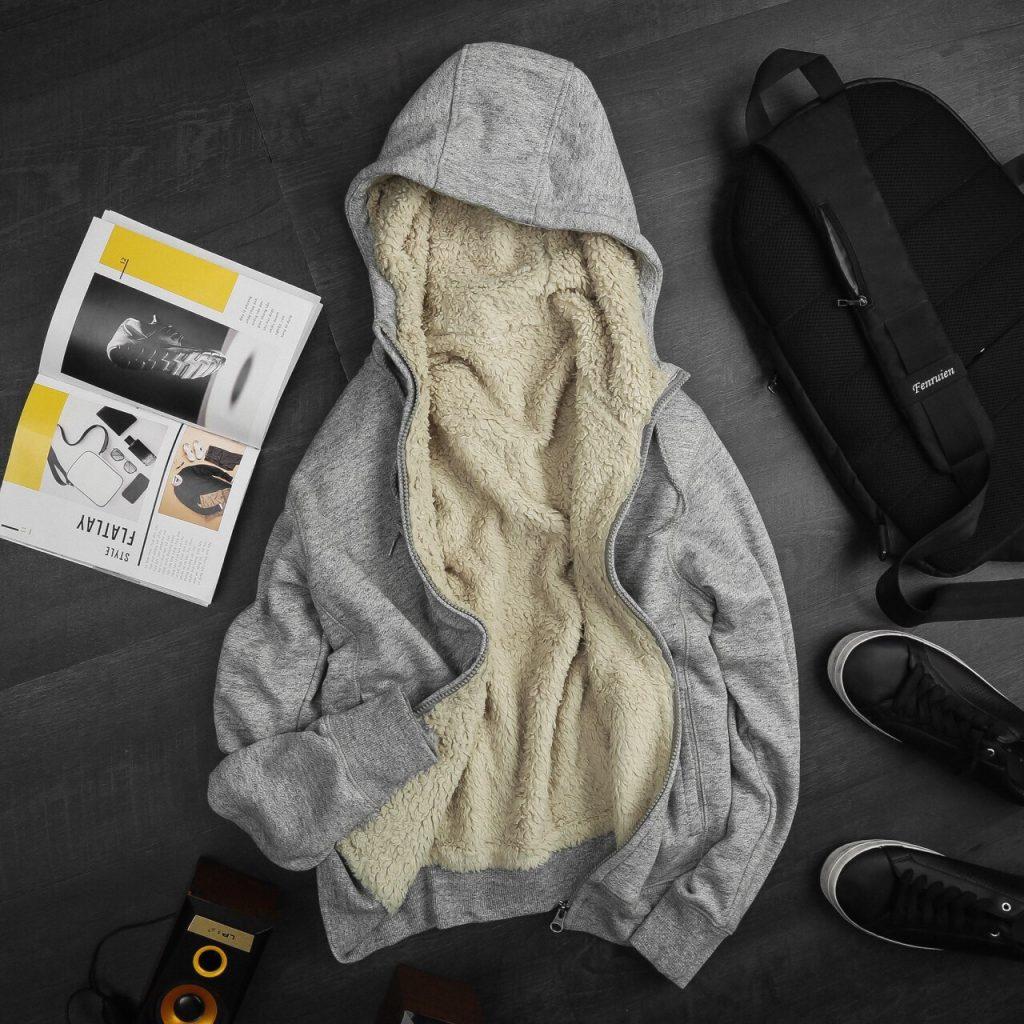 Áo khoác lót lông cừu Uniqlo chính hãng
