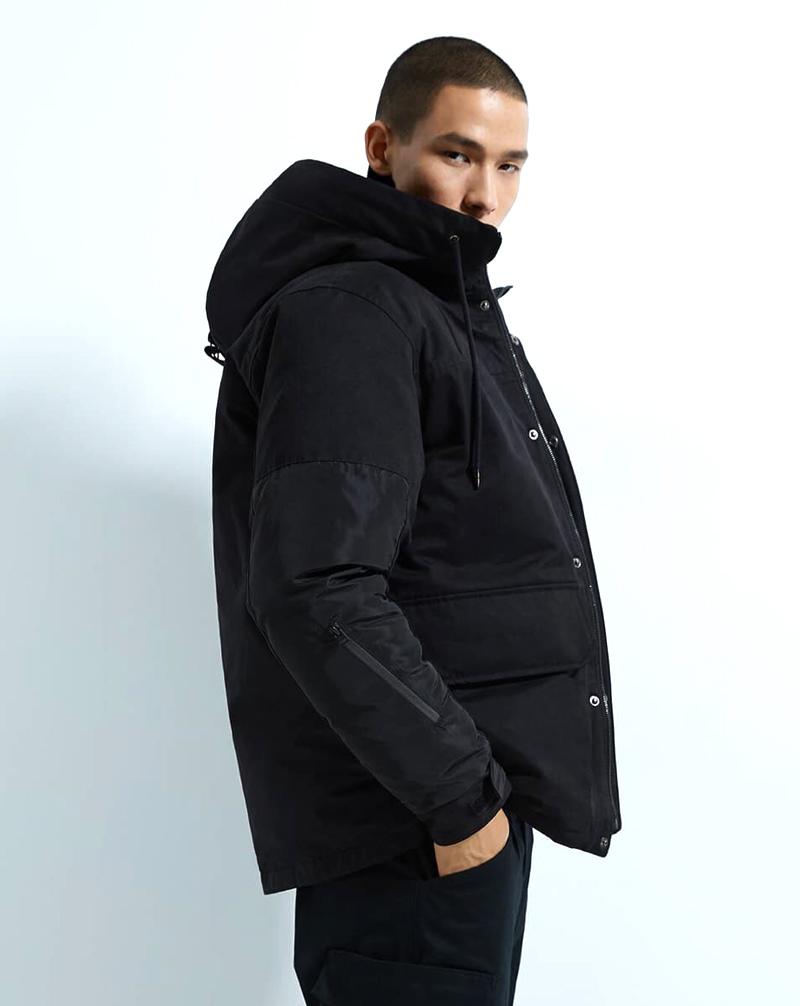 Đây là mẫu áo khoác chần bông của nam