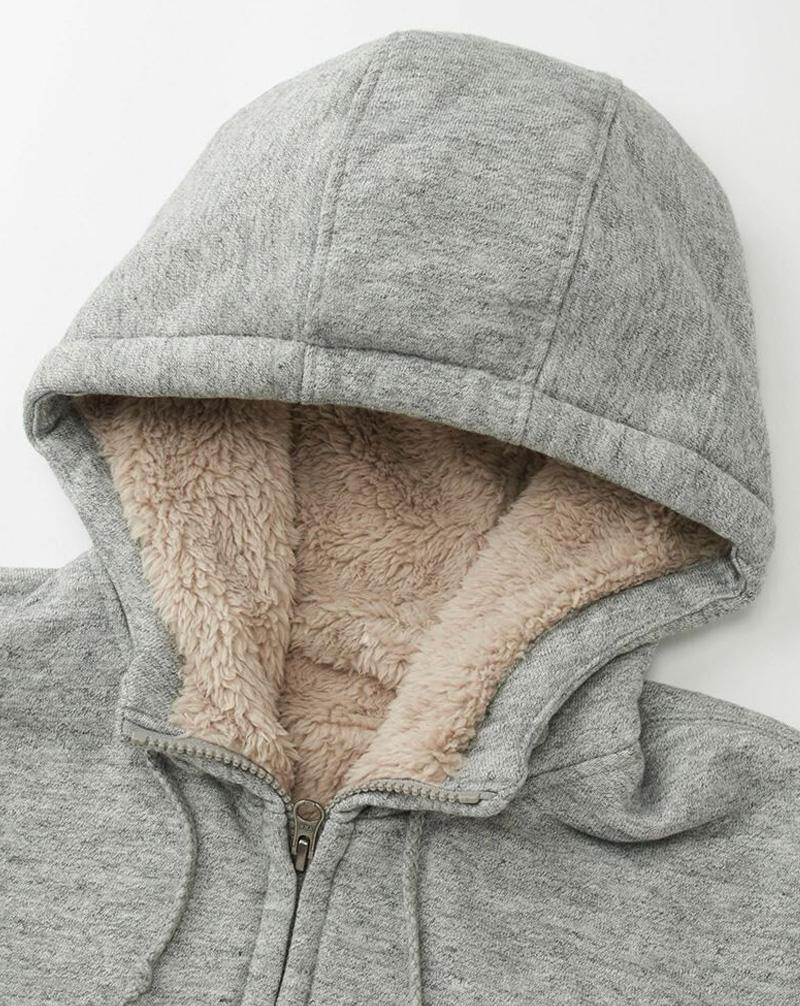 Áo khoác lông cừu Uniqlo