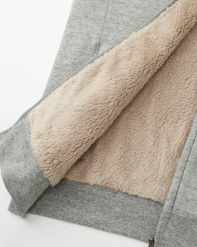 Áo khoác Uniqlo với lớp lông cừu bên trong