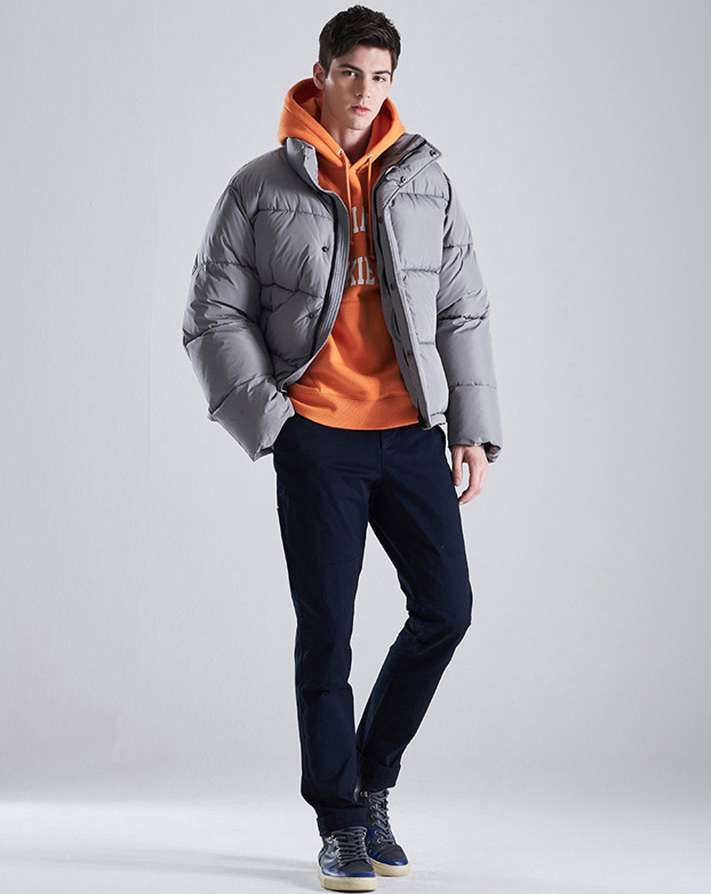 Áo khoác Diickies kiểu dáng áo khoác béo