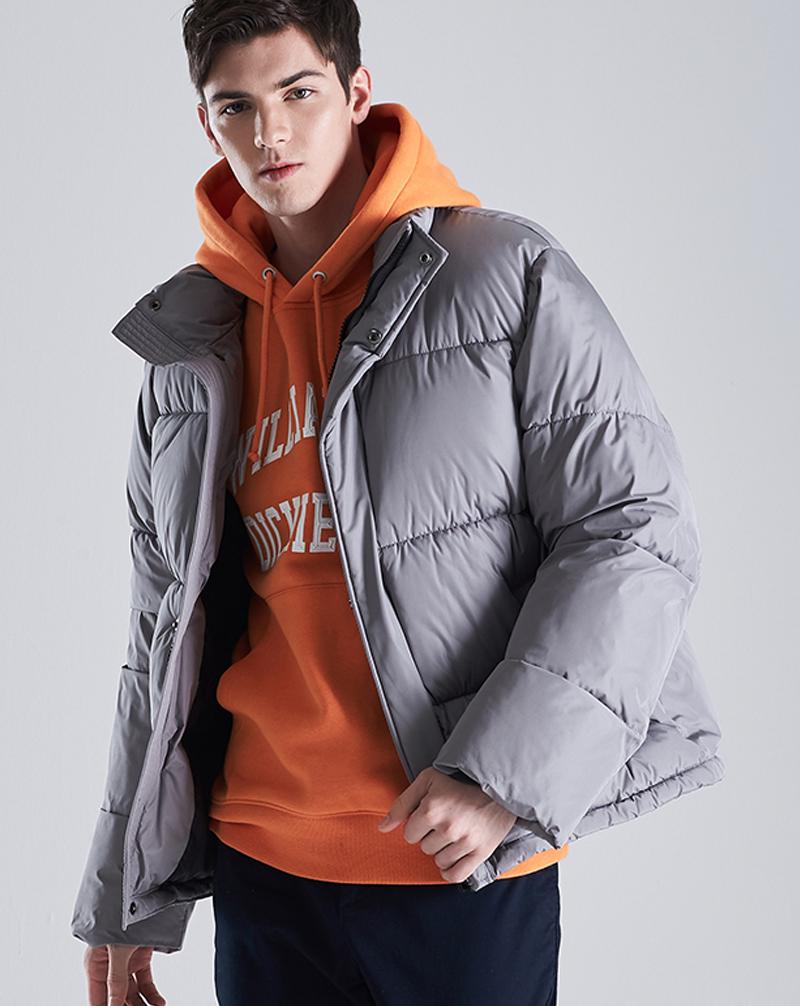 Mẫu áo khoác phao với kiểu dáng Hàn Quốc