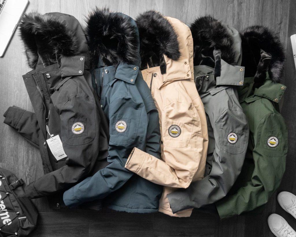 Những mẫu áo khoác parka luôn có sức hút vô cùng lớn trong mùa lạnh